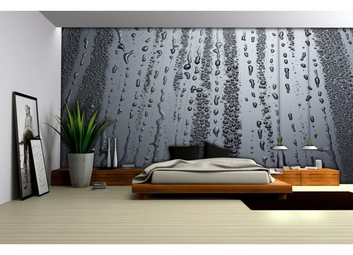 Fotobehang Modern, Slaapkamer | Grijs | 416x254