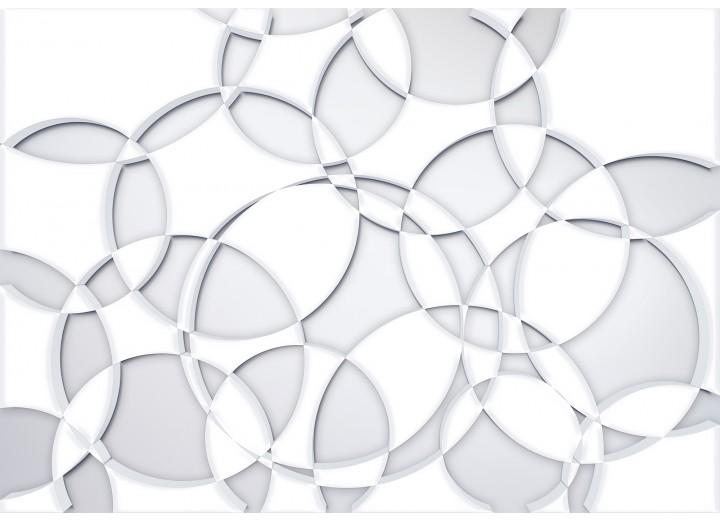 Fotobehang Papier Modern | Wit | 254x184cm