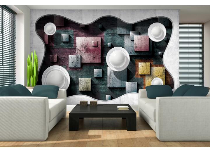 Fotobehang Modern | Grijs | 416x254