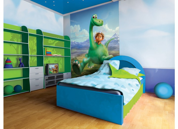 Fotobehang Papier The Good Dinosaur | Groen | 184x254cm