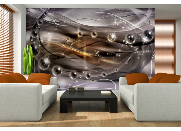 Fotobehang 3D, Design | Paars | 416x254