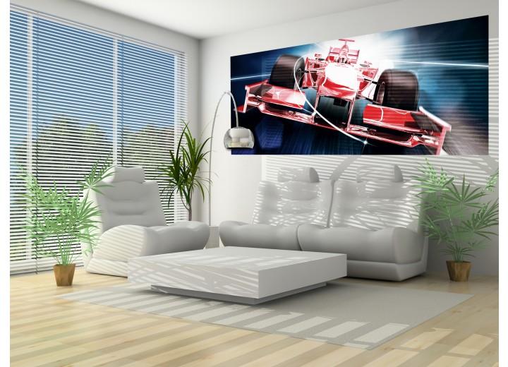 Fotobehang Formule 5 | Rood | 250x104cm