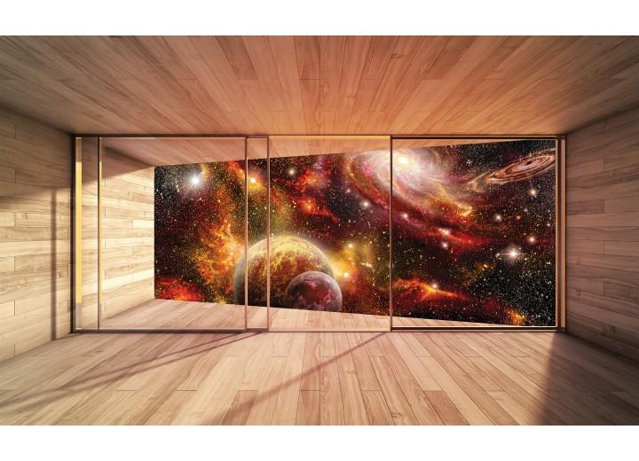 Fotobehang Papier Universum, Modern | Bruin | 254x184cm