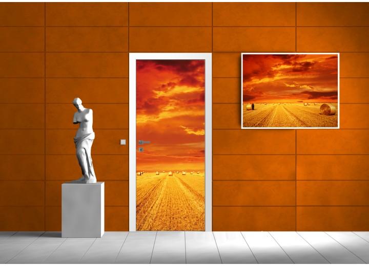 Fotobehang Natuur | Oranje | 91x211cm
