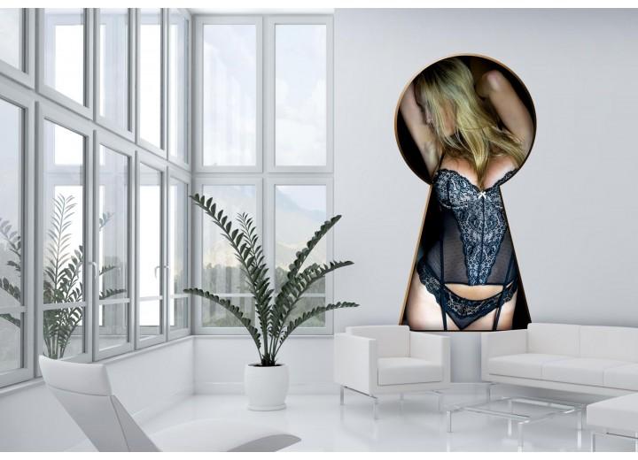 Fotobehang Sexy   Zwart  