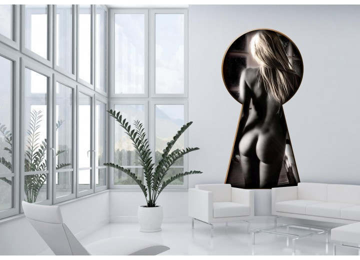 Fotobehang Sexy | Zwart |