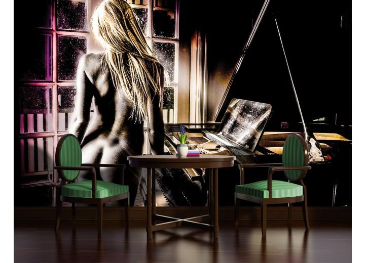 Fotobehang Vlies | Sexy | Zwart | 368x254cm (bxh)