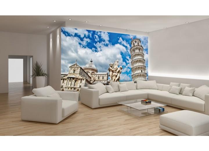 Fotobehang Pisa | Blauw | 104x70,5cm