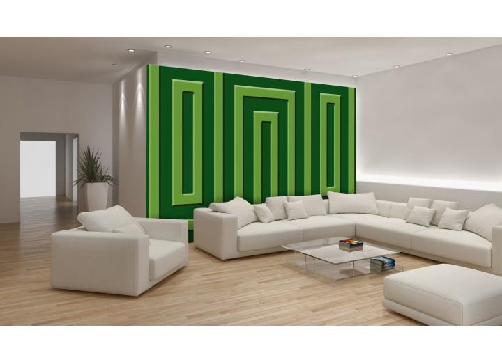 Fotobehang Stenen | Groen | 152,5x104cm