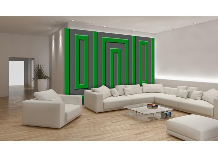 Fotobehang Stenen | Groen | 104x70,5cm