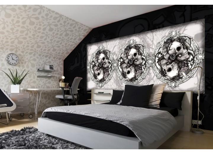 Fotobehang Alchemy Gothic | Crème | 250x104cm