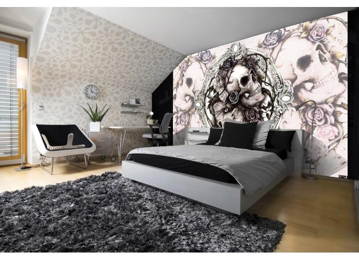 Fotobehang Vlies | Alchemy Gothic | Crème | 368x254cm (bxh)
