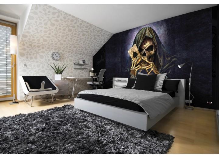 Fotobehang Alchemy Gothic | Zwart | 312x219cm
