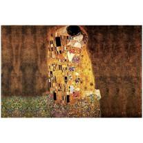 Fotobehang Kunst | Bruin | 104x70,5cm