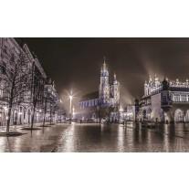 Fotobehang Papier Stad | Grijs | 254x184cm