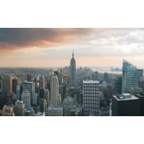 Fotobehang Papier New York | Grijs | 368x254cm