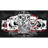 Fotobehang Alchemy Gothic | Zwart, Wit | 152,5x104cm