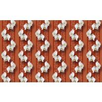 Fotobehang Papier Bloemen, Orchidee | Oranje | 254x184cm