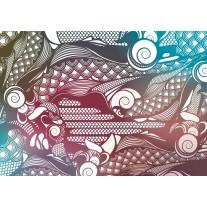 Fotobehang Papier Abstract | Grijs | 368x254cm