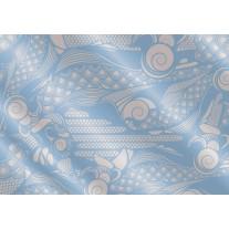 Fotobehang Papier Abstract | Blauw, Grijs | 368x254cm