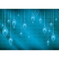 Fotobehang Papier Abstract | Blauw | 368x254cm