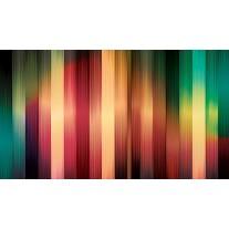 Fotobehang Papier Abstract | Rood, Geel | 254x184cm