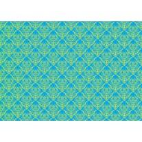Fotobehang Papier Klassiek | Blauw | 368x254cm