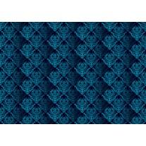 Fotobehang Papier Klassiek | Blauw | 254x184cm