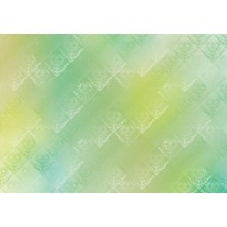 Fotobehang Papier Klassiek | Geel, Groen | 254x184cm