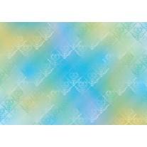 Fotobehang Papier Klassiek | Blauw, Groen | 254x184cm