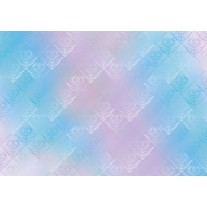 Fotobehang Papier Klassiek | Roze, Blauw | 368x254cm