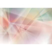 Fotobehang Papier Abstract | Roze, Geel | 368x254cm