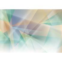 Fotobehang Papier Abstract | Groen, Geel | 368x254cm