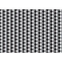 Fotobehang Papier Abstract | Grijs, Zwart | 254x184cm