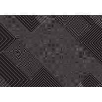 Fotobehang Papier Abstract | Zwart, Grijs | 254x184cm
