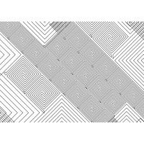 Fotobehang Papier Abstract | Wit, Grijs | 254x184cm