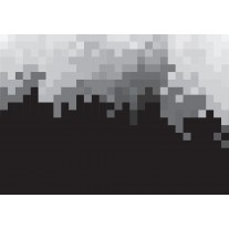 Fotobehang Papier Abstract | Zwart, Grijs | 368x254cm