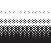 Fotobehang Papier Abstract | Zwart, Wit | 368x254cm