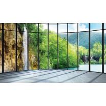 Fotobehang Natuur | Groen, Grijs | 152,5x104cm