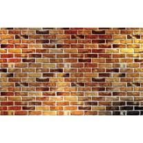 Fotobehang Stenen, Muur | Bruin | 152,5x104cm