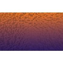 Fotobehang Papier 3D | Oranje, Paars | 368x254cm