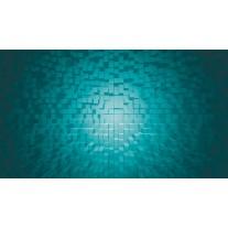 Fotobehang 3D | Turquoise | 152,5x104cm