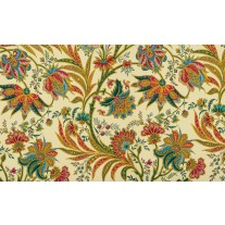 Fotobehang Papier Bloemen | Geel, Groen | 254x184cm