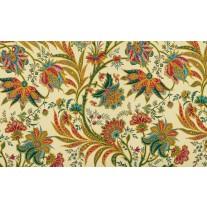 Fotobehang Papier Bloemen | Geel, Groen | 368x254cm