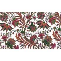 Fotobehang Papier Bloemen | Wit, Groen | 254x184cm