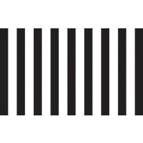 Fotobehang Strepen | Zwart, Wit | 152,5x104cm