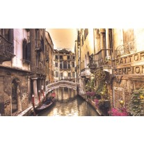Fotobehang Papier Venetië | Bruin | 254x184cm