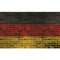 Fotobehang Stenen, Muur | Geel | 152,5x104cm