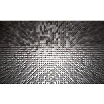 Fotobehang Papier 3D | Grijs | 368x254cm