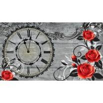 Fotobehang Papier Rozen, Bloemen | Rood | 254x184cm